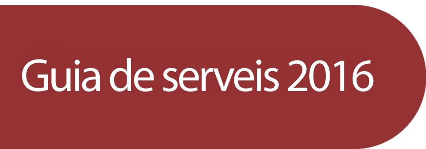 Guia de serveis 2016