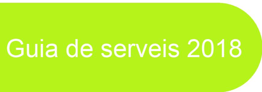 Guia de serveis 2018