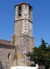Campanar de l'esglesia de Sant Vicenç