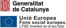Amb el finançament de la Generalitat de Catalunya i amb cofinançament del Fons Social Europeu