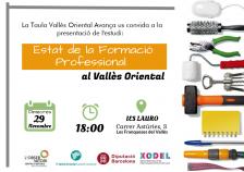 Estat de la Formació Professional al Vallès Oriental. Presentació el 29 de novembre