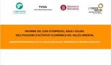 Informe del Cens d'empreses, naus i solars dels PAE del Vallès Oriental