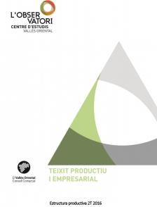 Butlletí Estructura Productiva Vallès Oriental 2T2016