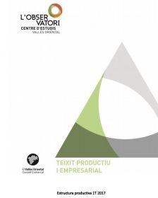 Butlletí 012 d'Estructura Productiva 1T2017