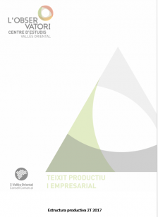 Butlletí Estructura Productiva 2T2017 Vallès Oriental