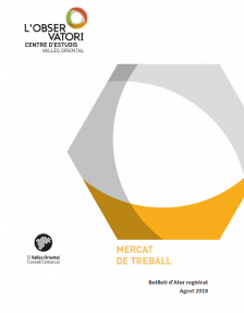 Butlletí d'Atur registrat Agost 2018
