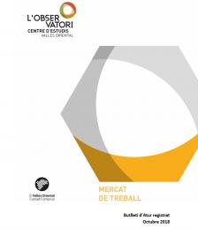 Butlletí Atur Registrat Octubre 2018 Vallès Oriental