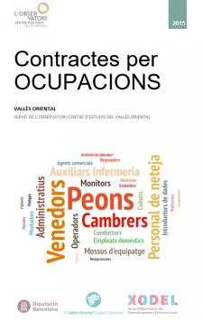 Contractes per ocupacions 2015 Vallès Oriental