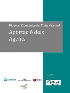 Diagnosi Pla Estratègic Vallès Oriental Aportació dels agents