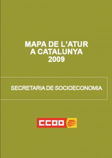 Mapa de l'atur a Catalunya 2009