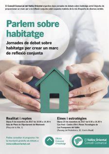 Cartell dels debats sobre habitatge