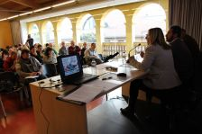Una seixantena de persones han participat en la segona jornada de debats sobre habitatge