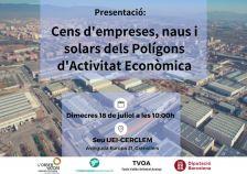 Presentació cens empreses, naus i solars PAE Vallès Oriental